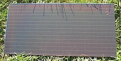 Chronar Solar Panel