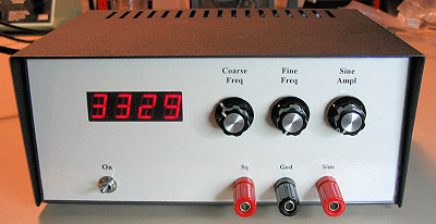 Audio Frequency Signal Generator